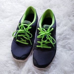4 for $20 Gray and Neon Green Nike Sneakers